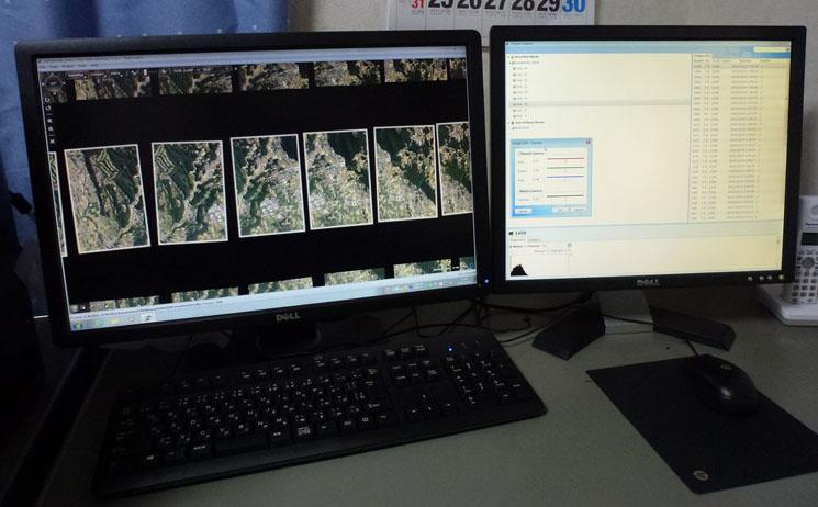 UltraMapによる画像処理作業